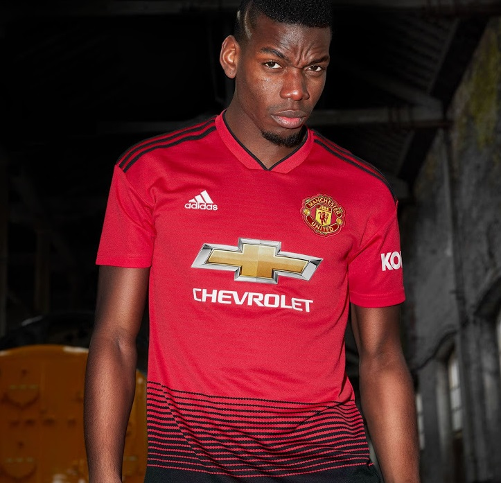 Manchester United 2019 maillot domicile Pogba