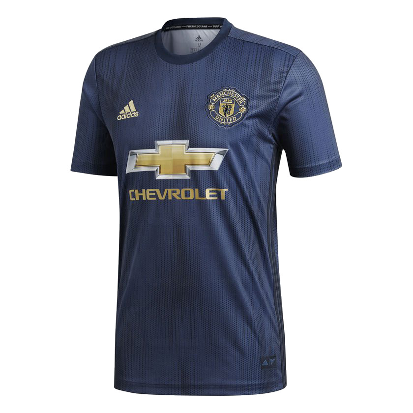 Manchester United 2019 troisieme maillot third 18 19 Adidas