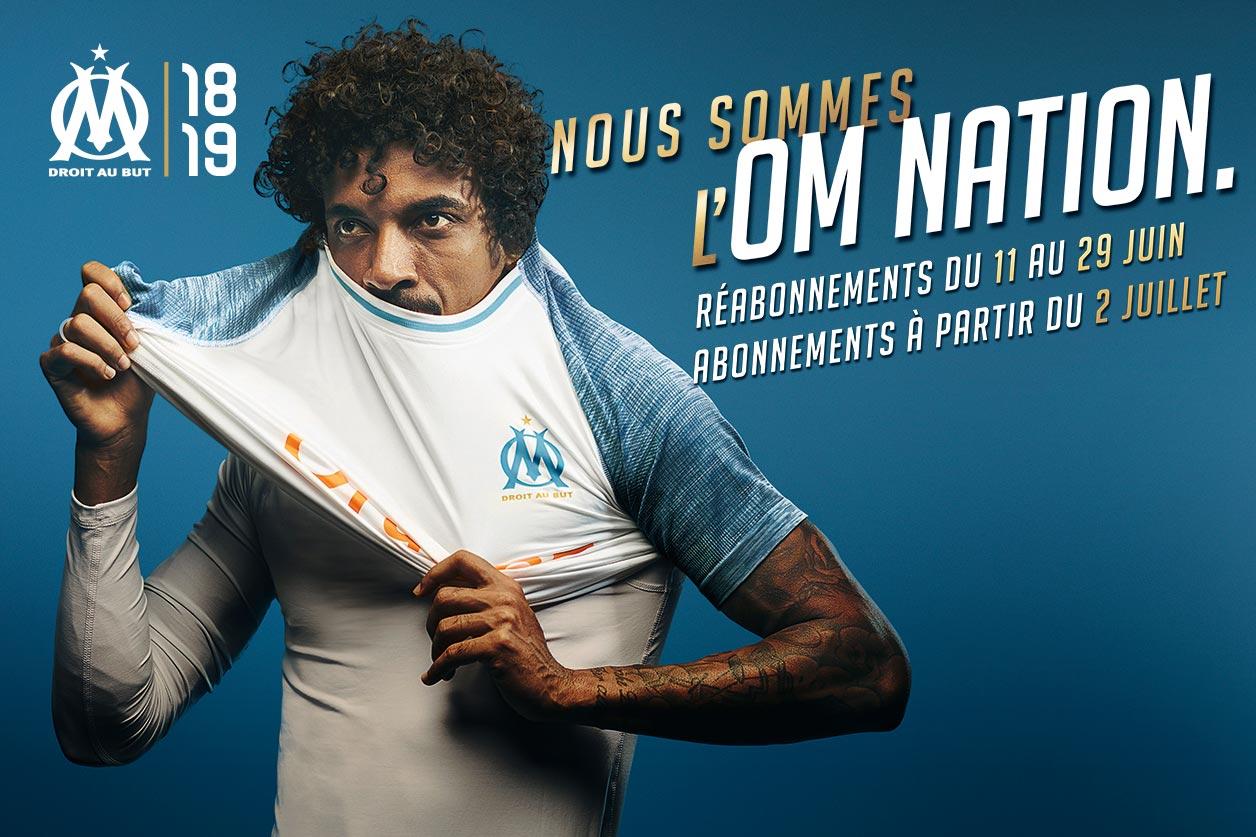 OM 2019 maillot domicile Marseille Gustavo