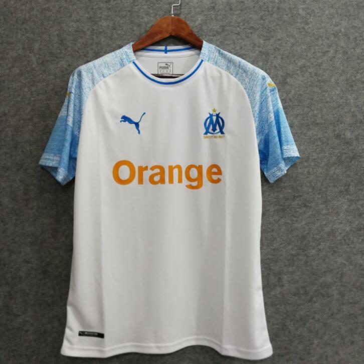 OM 2019 maillot domicile Marseille football 18 19