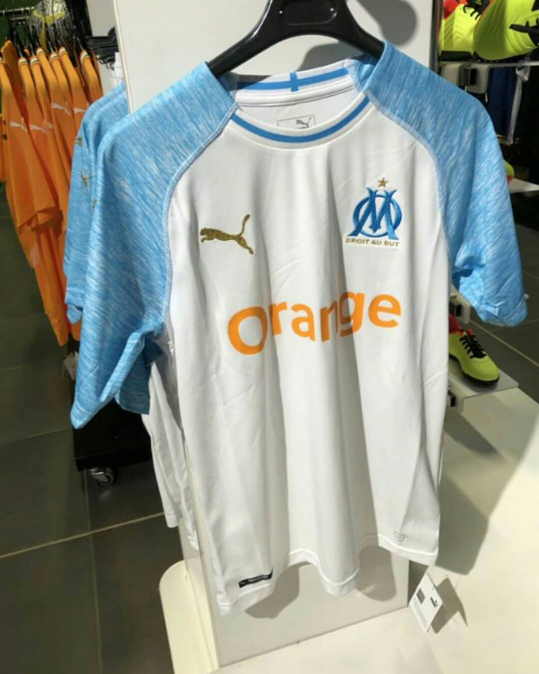 OM 2019 maillot domicile Olympique de Marseille 18 19