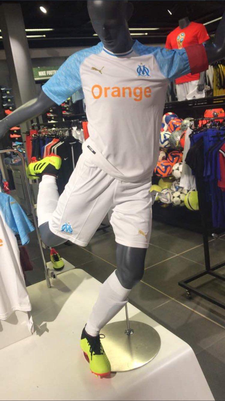 OM 2019 maillot extérieur Marseille 2018 2019