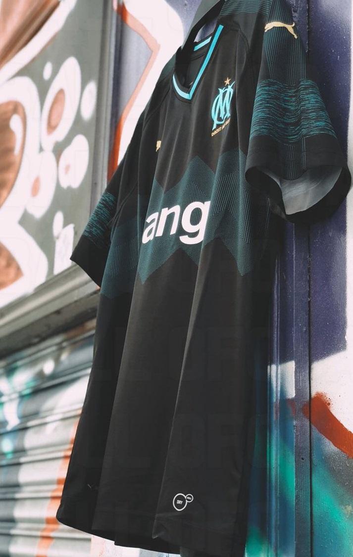 OM 2019 maillot extérieur 18 19 Marseille Puma