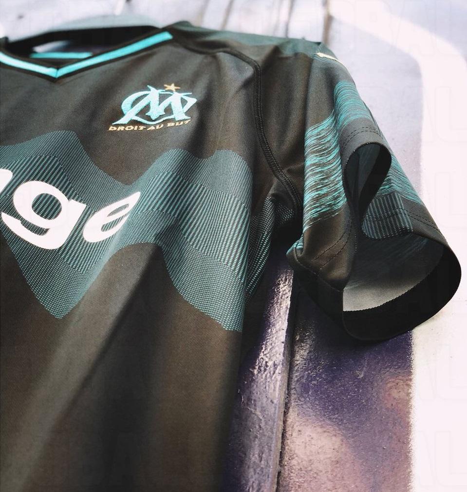 OM 2019 maillot extérieur 18 19 Marseille foot