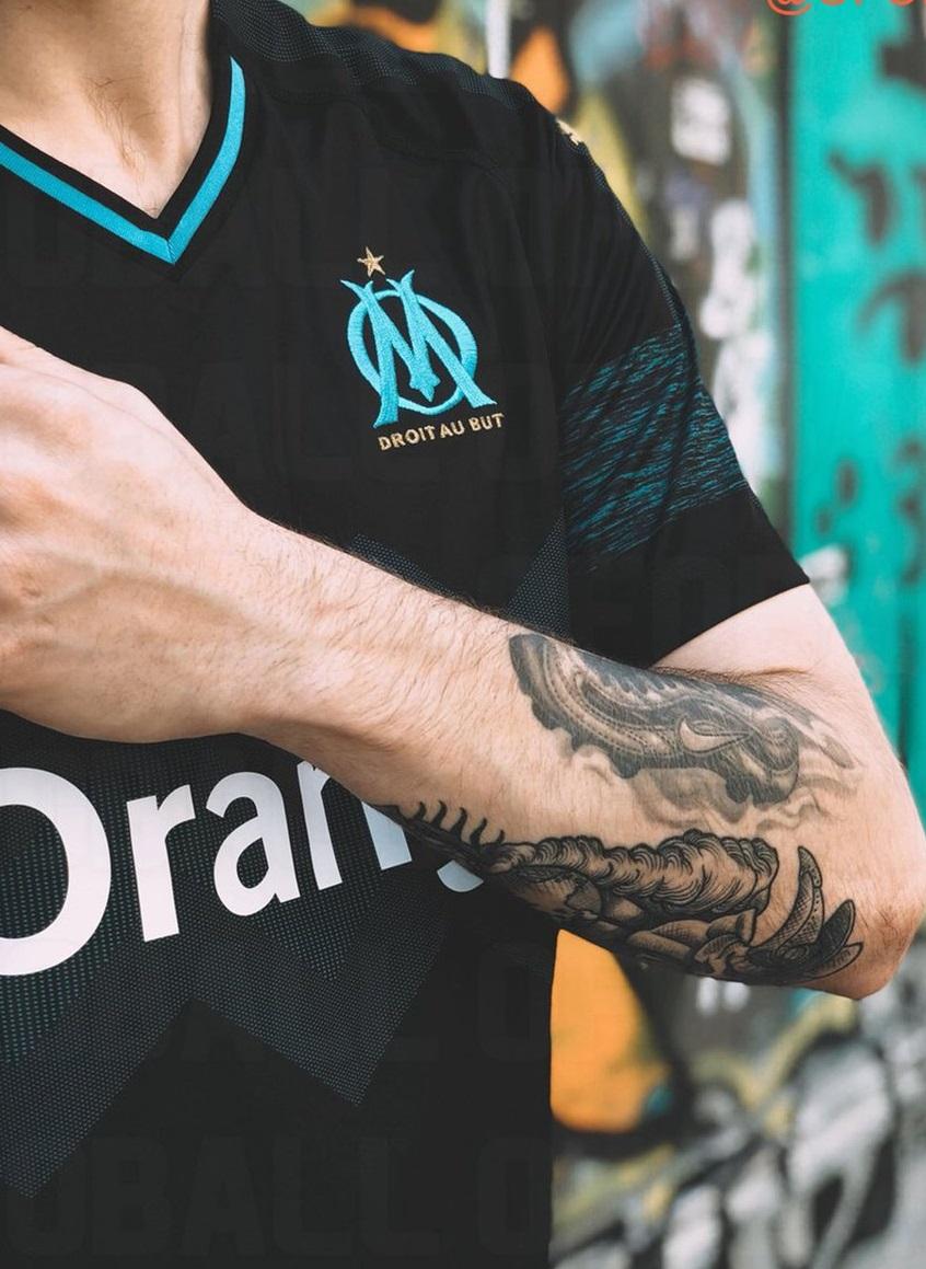 OM 2019 maillot extérieur 18 19 Marseille