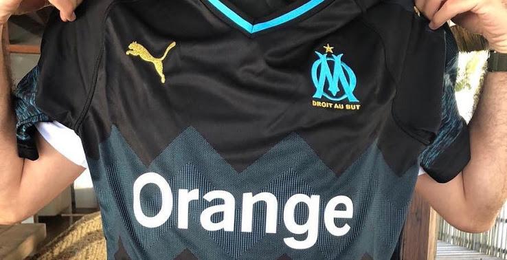 tenue de foot Olympique de Marseille nouveau