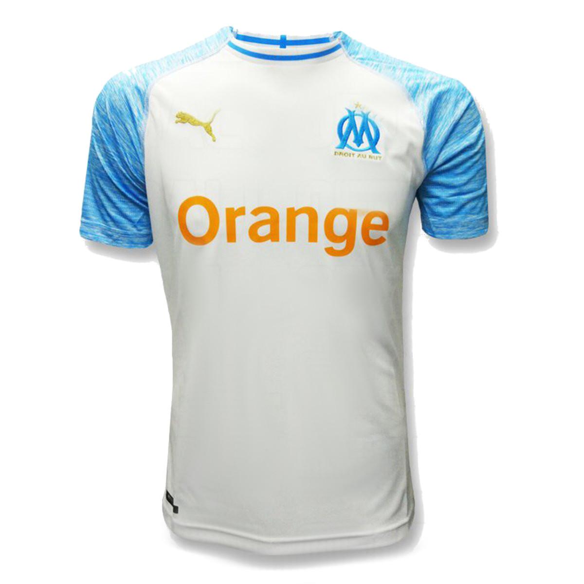 Olympique de Marseille 2019 nouveau maillot domicile