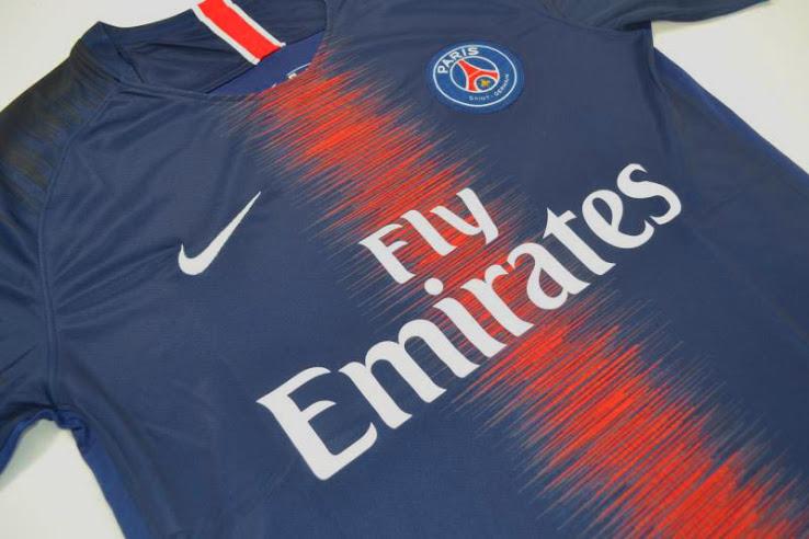 PSG 2019 maillot de foot domicile Paris