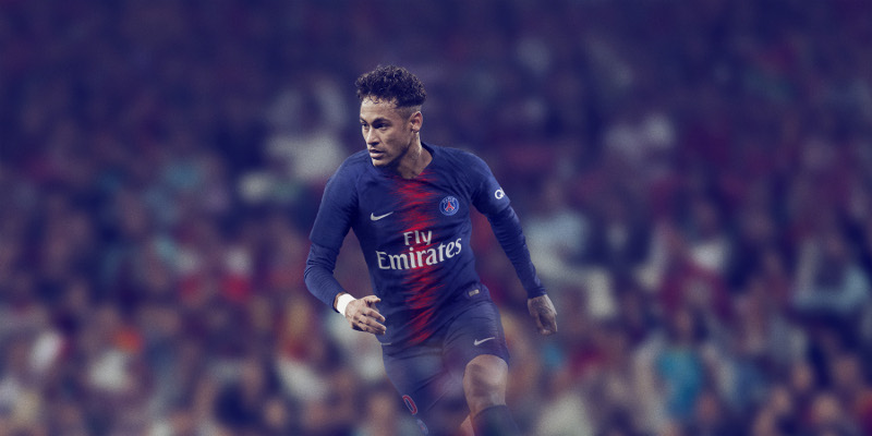 PSG 2019 maillot domicile Neymar