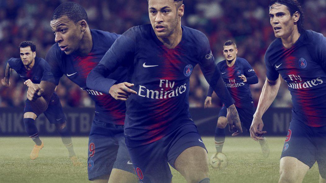 PSG 2019 maillot domicile offiicel Nike 2018 2019