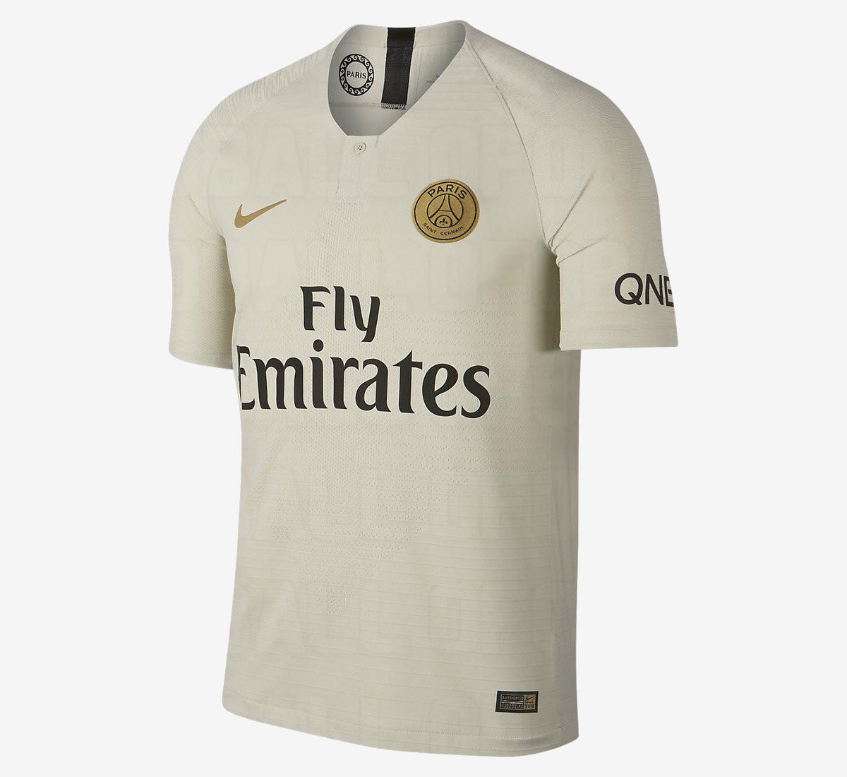 PSG 2019 maillot extérieur foot Nike