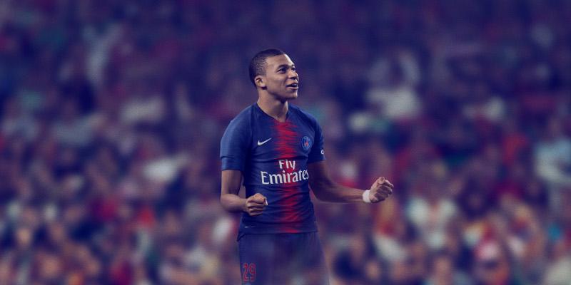 maillot foot domicile PSG 2019 L1