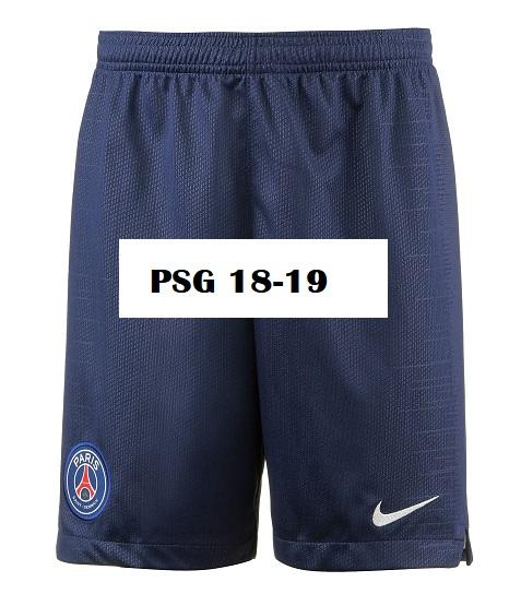 PSG 2019 short foot domicile