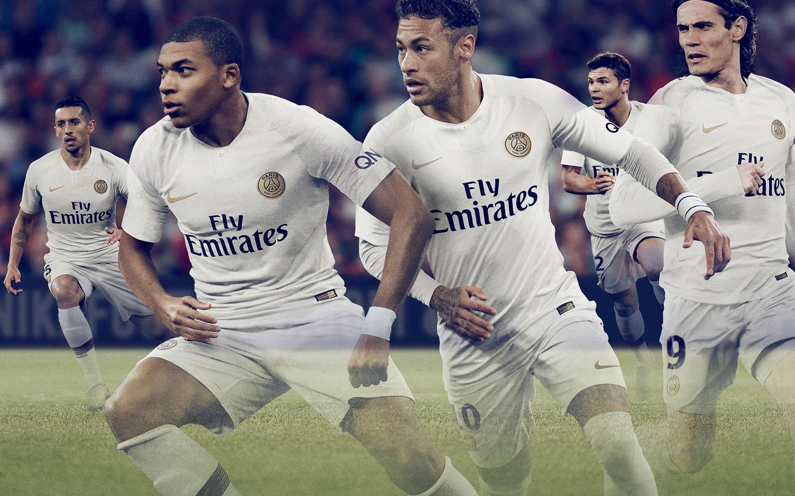 PSG nouveau maillot extérieur foot Paris Saint Germain