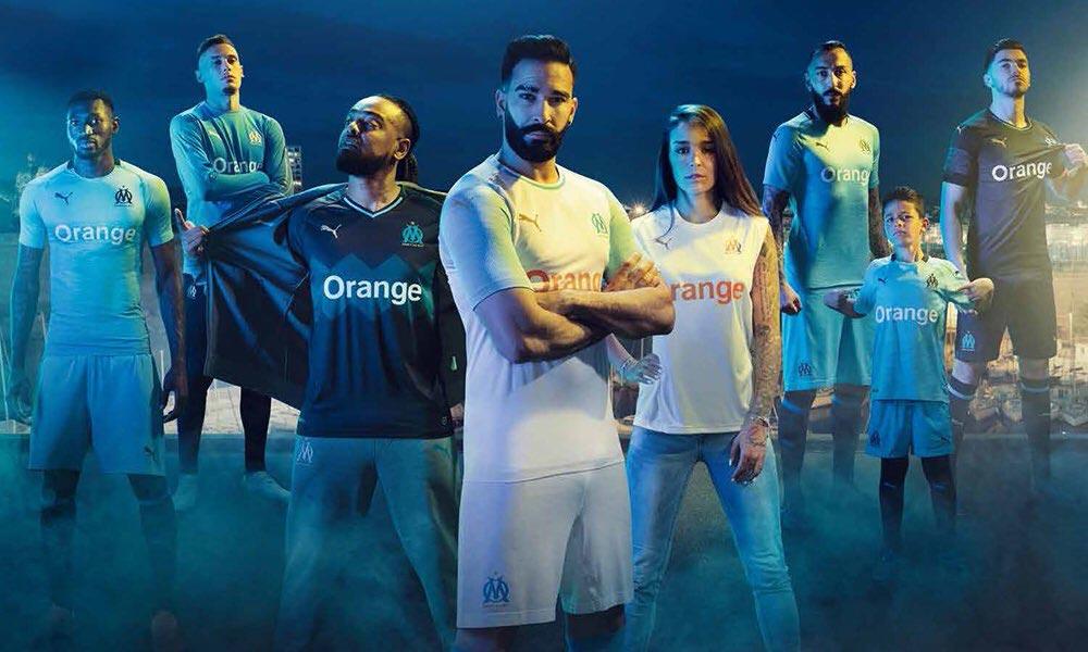 Puma Olympique de Marseille 2018 2019 nouveaux maillots de foot