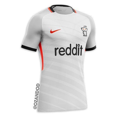 Reddit reseau social maillot de football