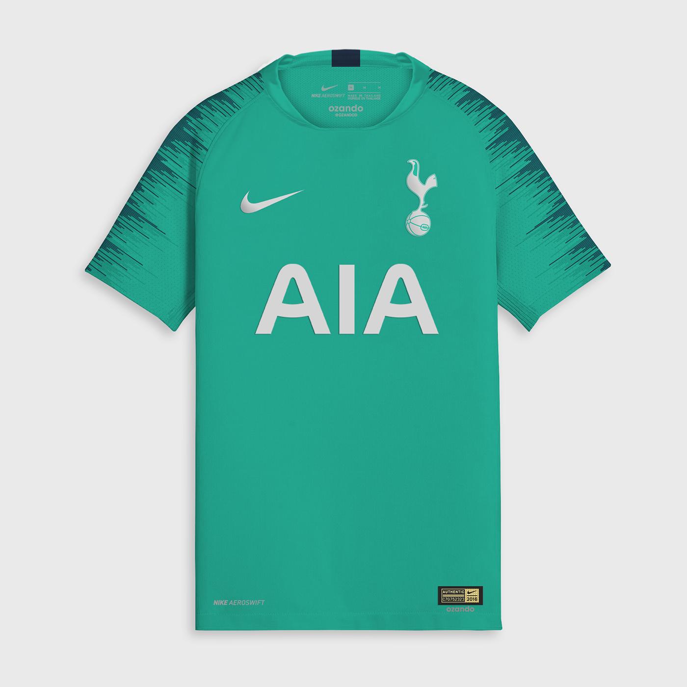 Tottenham 2019 possible maillot foot third 18 19