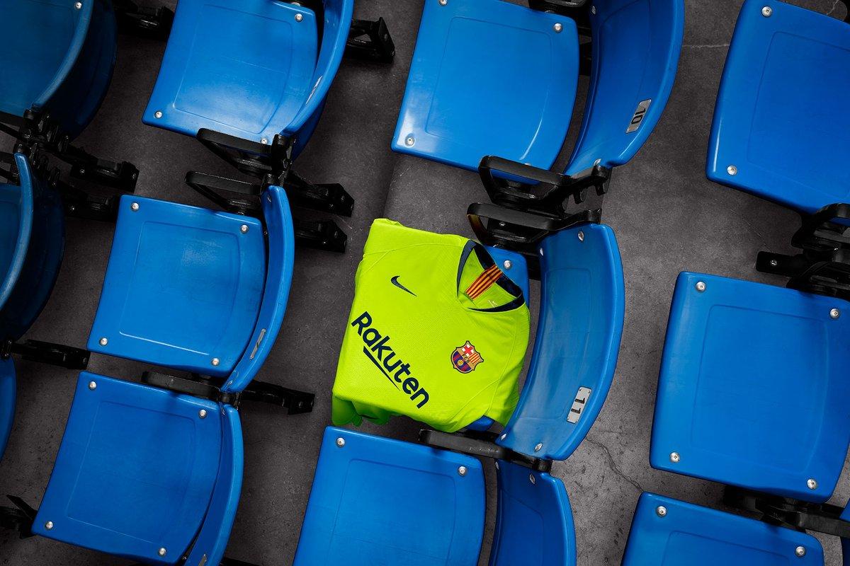 prédiction maillot extérieur FC Barcelone 18 19