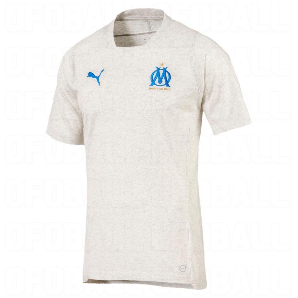 maillot entrainement Olympique de Marseille 2018