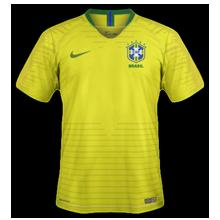 Brésil 2018 maillot foot domicile football coupe du monde 2018