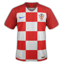 Croatie 2018 maillot de football coupe du monde 2018
