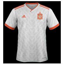 Espagne 2018 maillot exterieur foot coupe du monde 2018