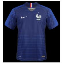 maillot domicile France coupe du monde 2018