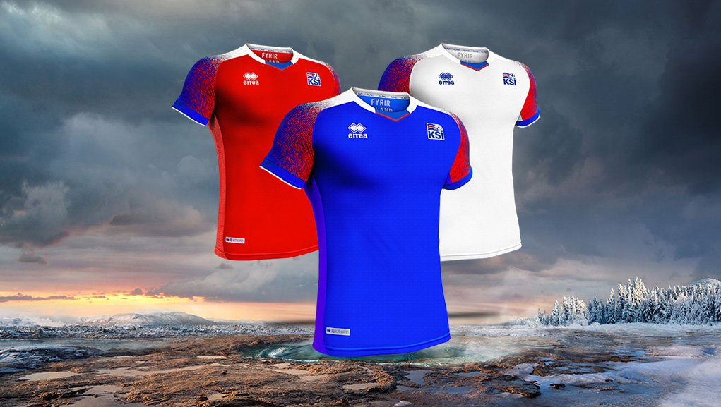 Islande 2018 maillots de football coupe dumonde2018