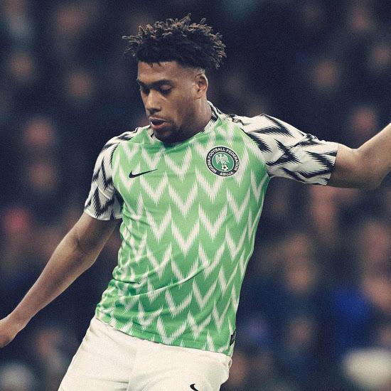 Nigeria 2018 maillot domicile coupe du monde 2018 Nike