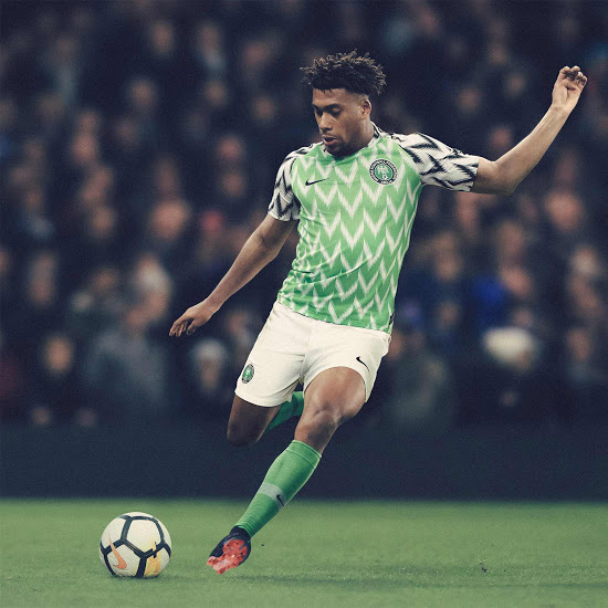 Nigeria 2018 maillot domicile coupe du monde 2018