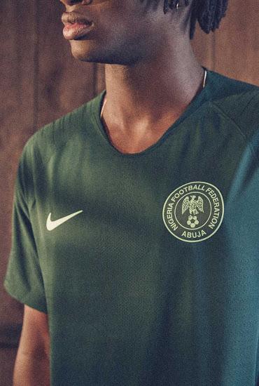 Nigeria 2018 maillot exterieur coupe du monde 2018