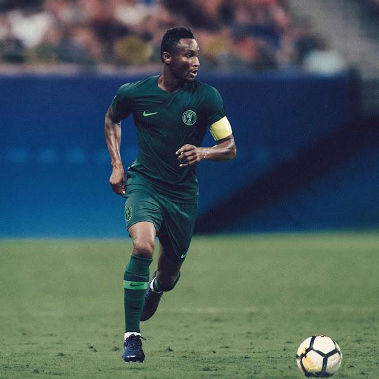 Nigeria 2018 maillot foot exterieur coupe du monde 2018