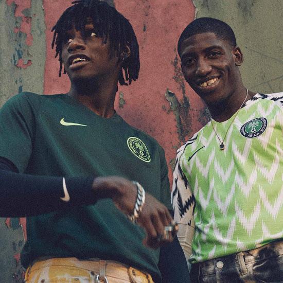 Nigeria 2018 maillots de football coupe du monde 2018
