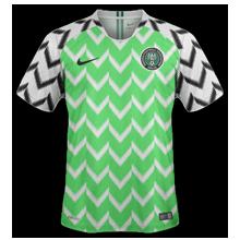 Nigeria maillot domicile coupe du monde 2018