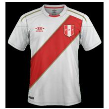Perou 2018 maillot football domicile coupe du monde 2018