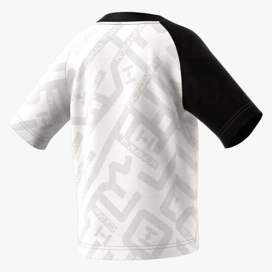 Star Wars maillot de foot Adidas officiel blanc dos