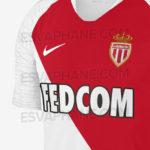 AS Monaco 2019 couleur maillot domicile