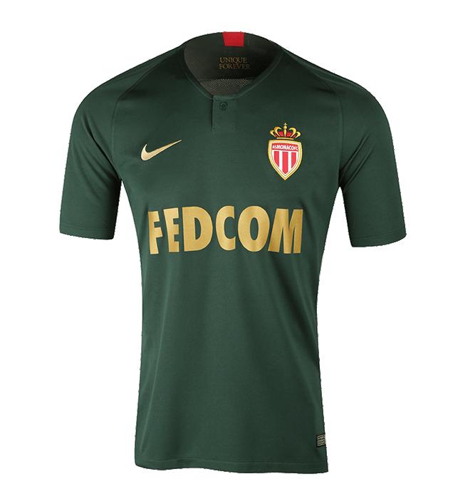 AS Monaco 2019 maillot de foot extérieur 18 19