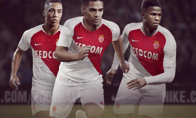 AS Monaco 2019 les nouveaux maillots de football