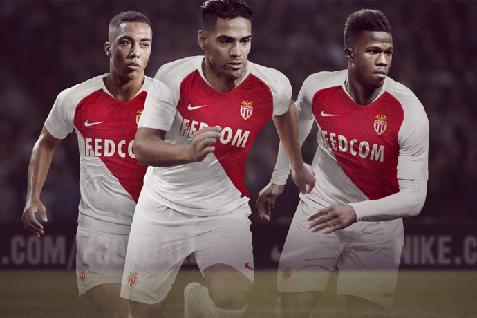 AS Monaco 2019 maillot de foot officiel 2018 2019