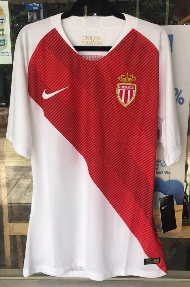 AS Monaco 2019 maillot domicile 18 19