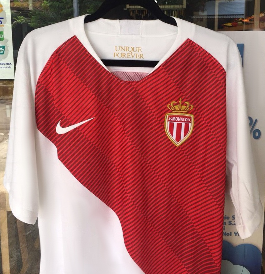 AS Monaco 2019 maillot domicile Nike foot