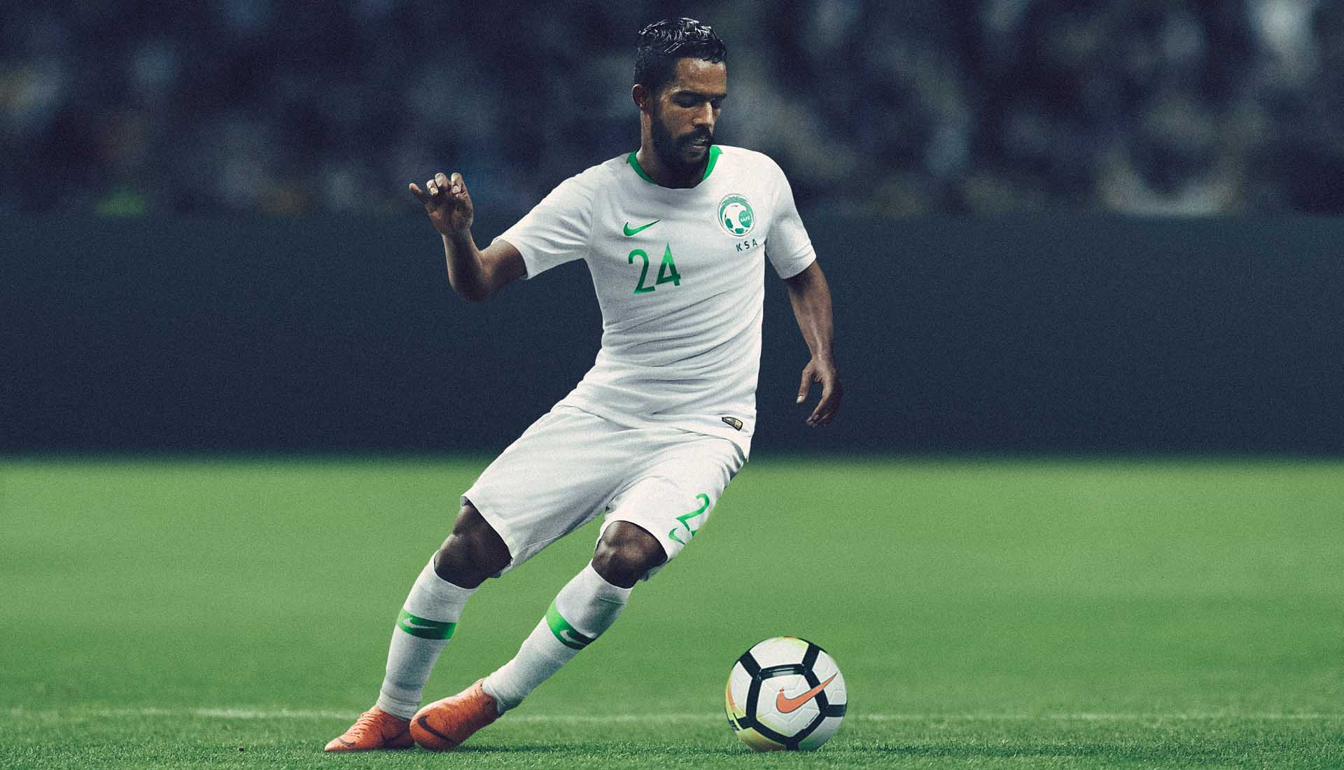 Arabie Saoudite 2018 maillot domicile coupe du monde 2018 officiel
