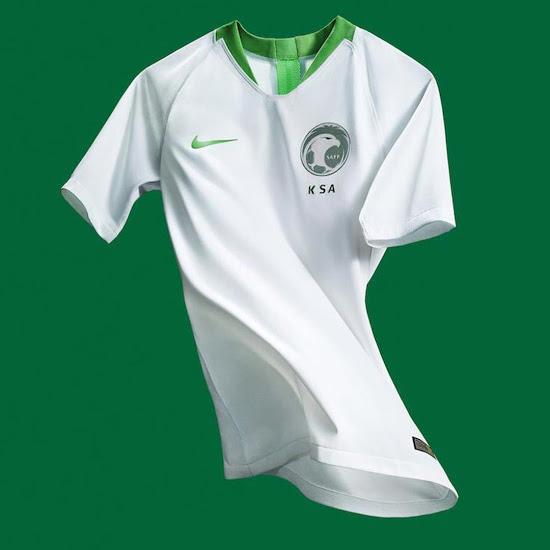 Arabie Saoudite 2018 maillot foot domicile coupe du monde 2018