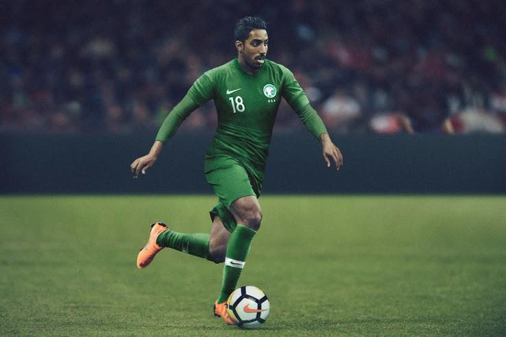 Arabie Saoudite 2018 maillot foot exterieur coupe du monde 2018