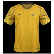 Australie 2018 maillot domicile foot coupe du monde 2018
