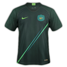Australie 2018 maillot extérieur coupe du monde 2018