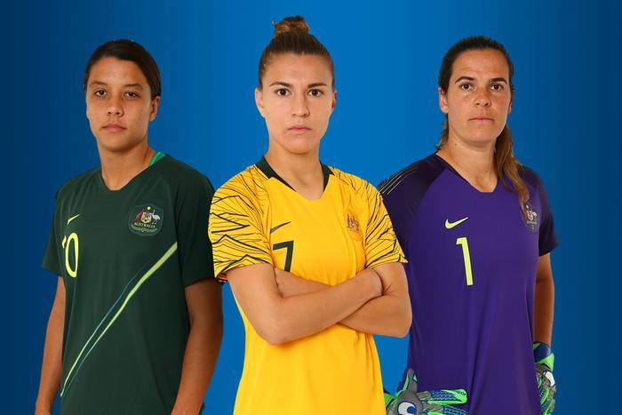 Australie 2018 nouveaux maillots Nike coupe du monde 2018