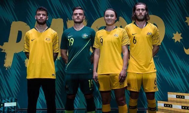 Maillots de foot Australie 2018 coupe du monde 2018