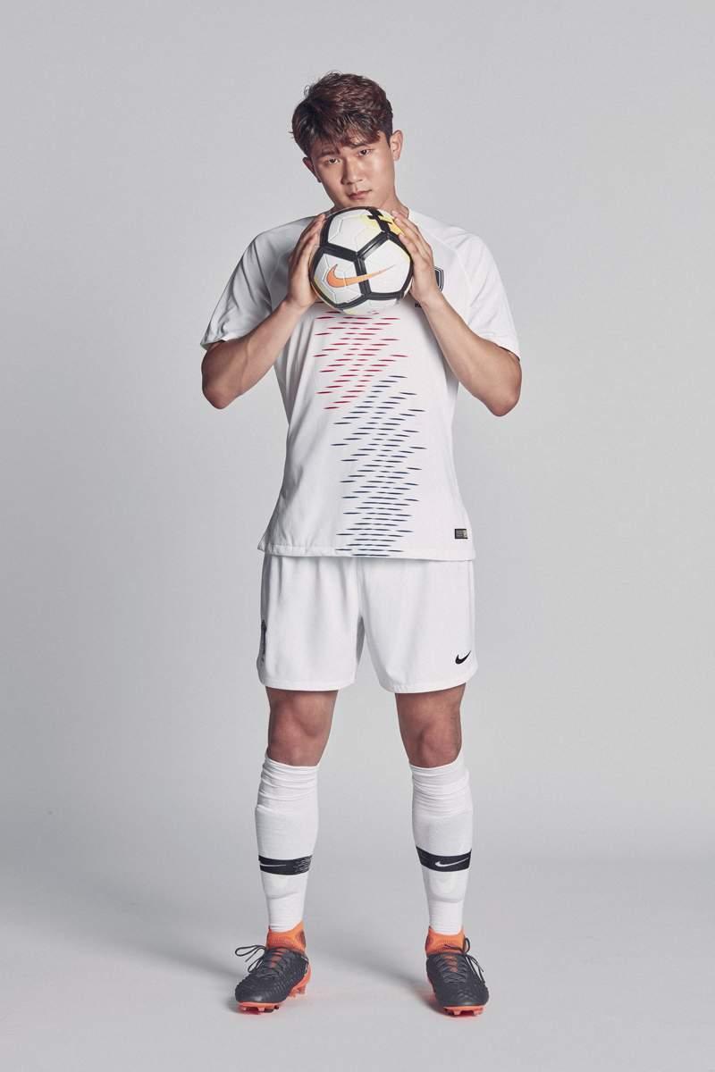 Corée 2018 maillot exterieur coupe du monde 2018
